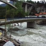 Frühjahrshochwasser Anfang Mai