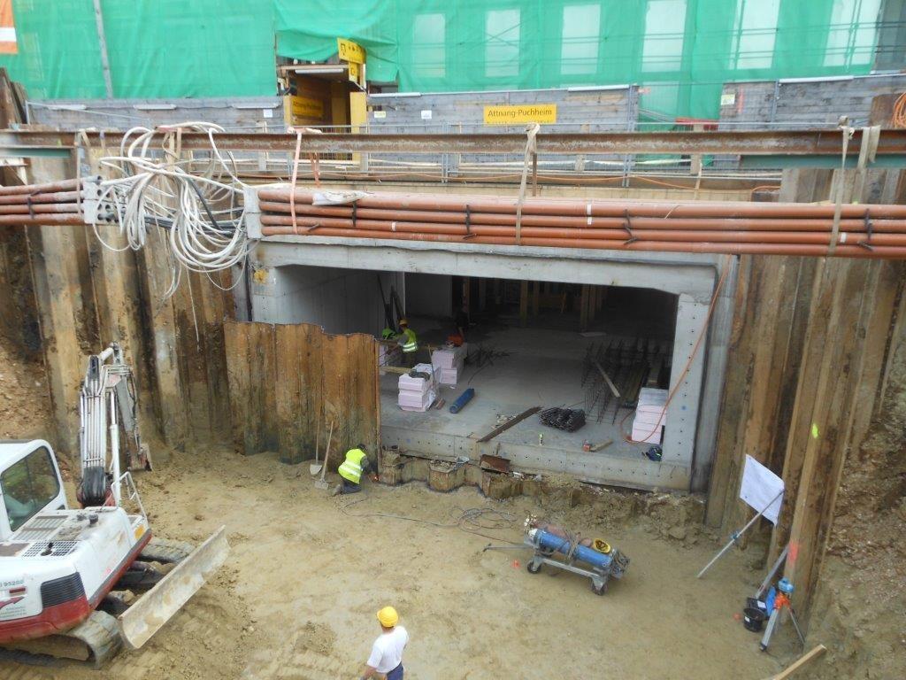 Bauen unter Betrieb